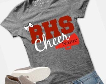 a17b0e7ec Cheerleading Shirt Custom Sports Tshirt   High School   College   All Star