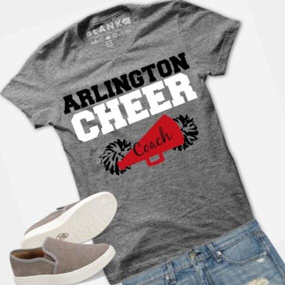 beb01251bf4ee Cheerleading Tshirt Personalized Team Shirts | School | College | All Star  | Dance