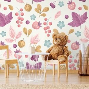 Self adhesive wallpaper #151 Wallpaper Removable Wallpaper Wild Animals Wall mural Removable Wallpaper Peel and Stick Wallpaper