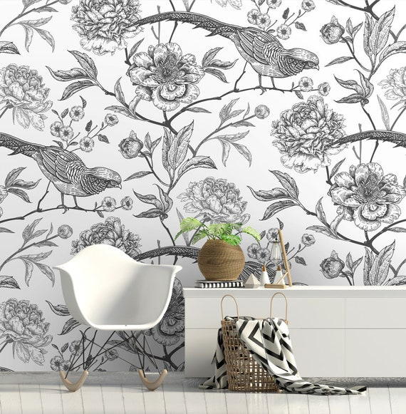 Muster geometric removable wallpaper brown orange and gray wall mural wall covering #243