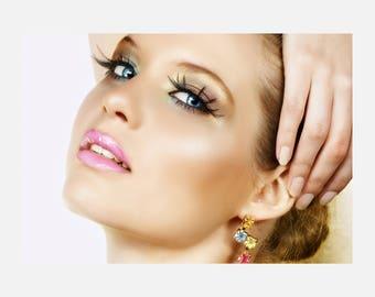 Beauty hair Salon Makeup Poster or Canvas