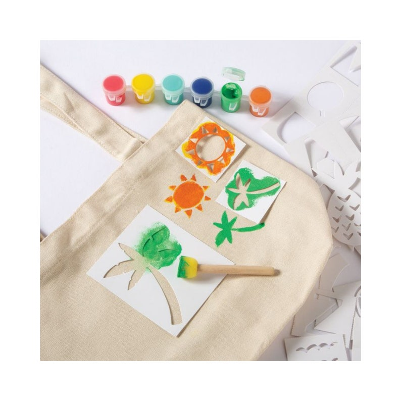 Customizable Canvas Tote Bag Kit Includes Canvas Tote Bag image 0