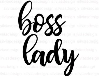 Boss Lady Clipart Etsy
