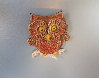 Wise Owl fridge magnet