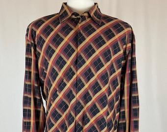 Men's Vintage 3X Men's Button Down Shirt