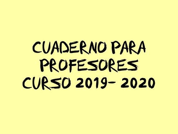 Coronas Para Decorar Cuadernos.Cuaderno De Organizacion Para Profesores Curso 2019 2020 276 Paginas Con Agenda Incluida Imprimible Pdf Primaria Secundaria