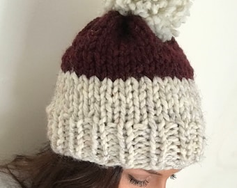 Two-Toned knitted hat
