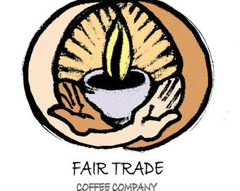 Fair Trade French Roast Coffee Beans - 5/lb Bag - Whole Bean