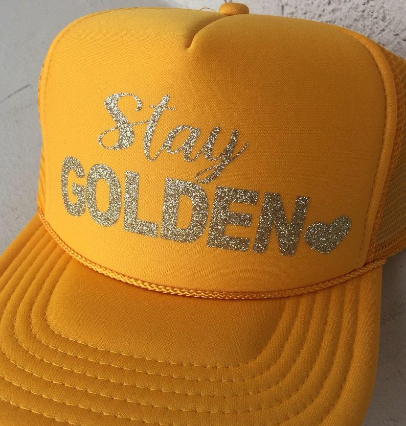 96d42c38 Summer trucker hat-Stay Golden-Golden Girls-pool | Etsy