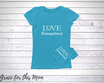 Teal Doll & Me T-Shirt Set, Pick Design