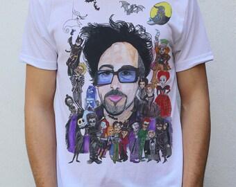 Tim Burton T shirt