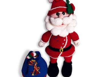 Amigurimi Santa Claus Nikniu
