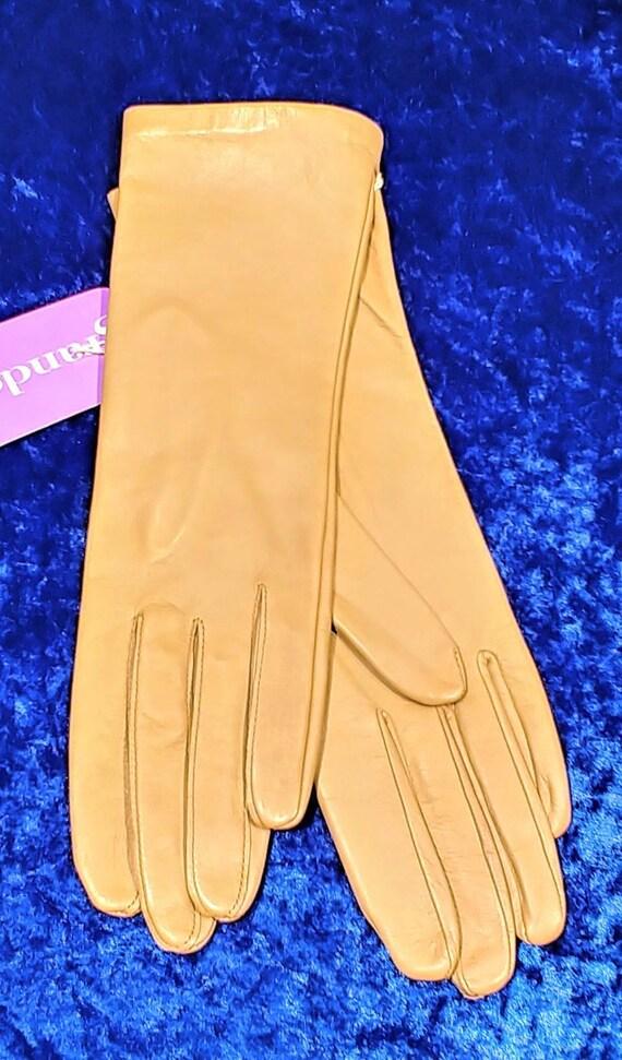 Grandoe Vintage Leather Gloves ~ Size 8