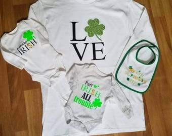 Mommy & Me St. PATRICK'S Day  Outfit