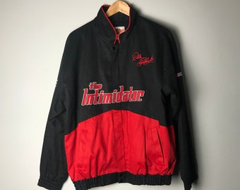 d1028671ad1c 90s Dale Earnhardt NASCAR Jacket The Intimidator - M