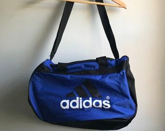 33d8e18078c 90s Adidas Small Gym Bag - One Size