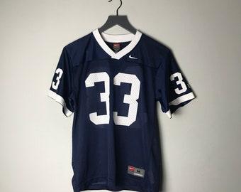 894cf461319 90s Nike Penn State Women's Jersey in Blue - M