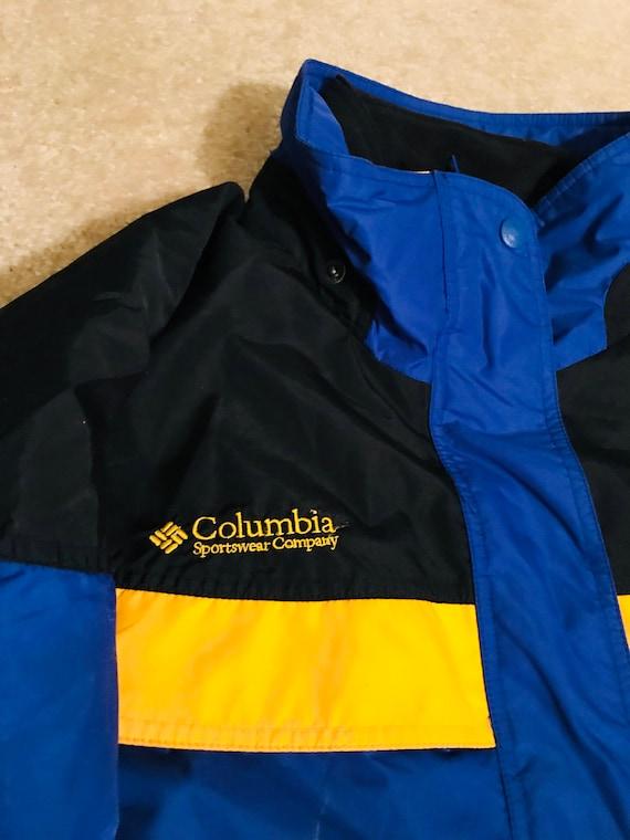 COLUMBIA de veste Sport Vintage 90 Royal veste Columbia femmes 7q5HaFwzg