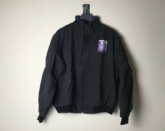 1991 Luther Vandross Tour Jacket in Black Power of Love - L
