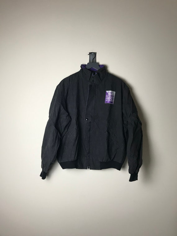 1991 Luther Vandross Tour Jacket in Black Power of