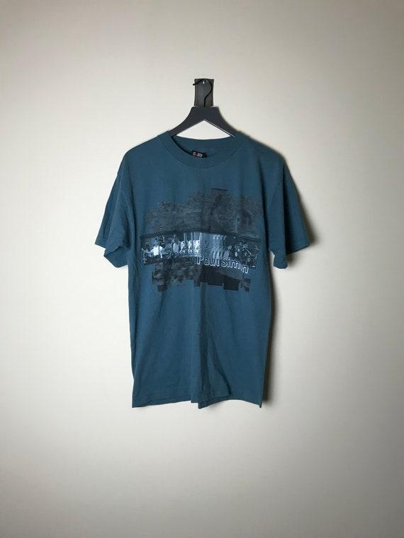 1999 Paul Simon Tour T-shirt in Blue - XL