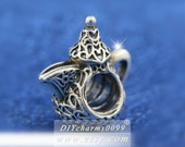 Limited Edition 100 Sterling Silver Arabian Teapot Coffee Pot Dallah Charm Beads Fits All European DIY Bracelets Necklaces