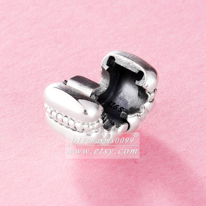 2008 Fall Release Sterling Silver Crazy Clip Charm Beads Fits All European DIY Bracelets Necklaces
