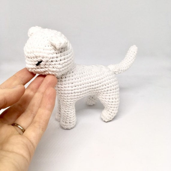 Crochet cat toy Amigurumi cat Plushie cat Crochet kitty Big cat toy Cat doll Stuffed animal Nursery cat toy Cat lover gift Mothers day gift