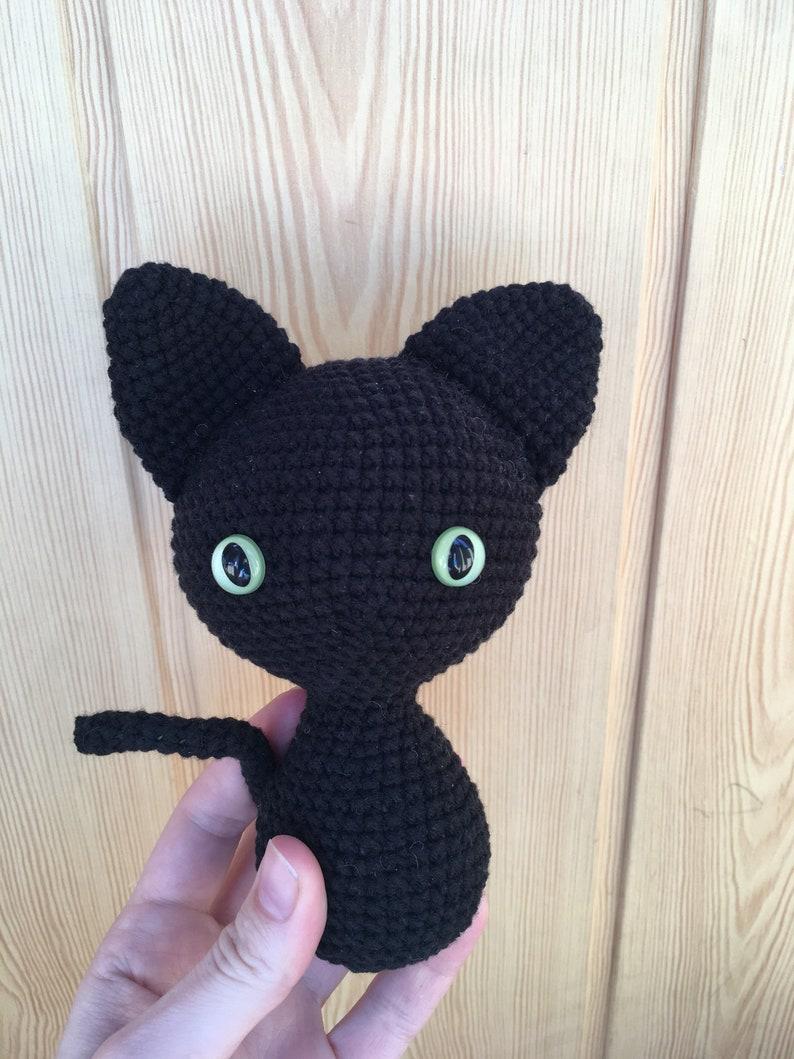 Black Cat Crochet Pattern Black Cat Amigurumi Amigurumi Cat | Etsy | 1059x794