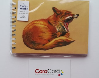 Fox A6 Notebook: RSPCA East Winch Charity