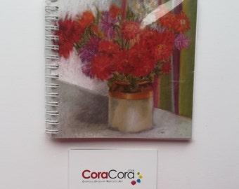 Chrysanthemum A6 Notebook