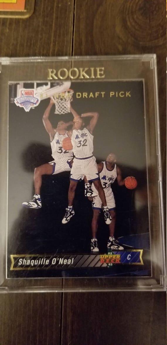 Shaq Oneal 1993 Upperdeck Rookie Card