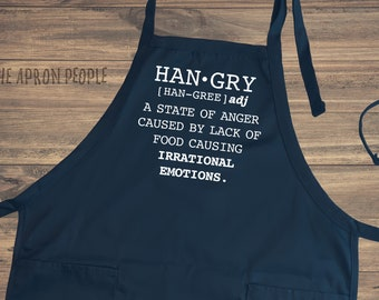 Hangry Definition Apron