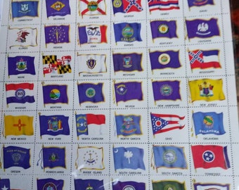 United States flags for all 50 staty