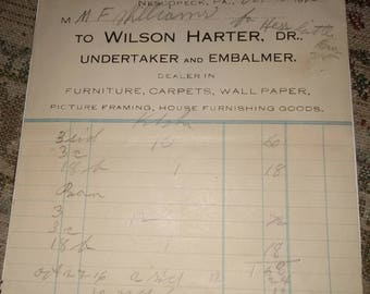 Old recipe from undertaker and embalmer
