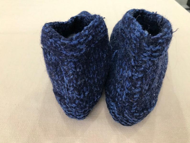 Vintage woolen slippers folk slippers Vintage hand handwork winter socks winter socks knitted woolen socks knitted slippers