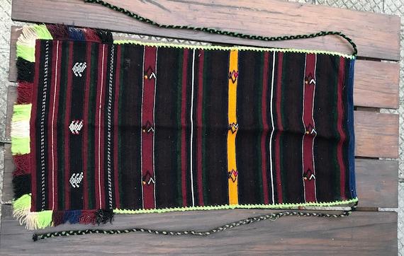 Vintage apron -Bulgarian folk costume apron -tradi