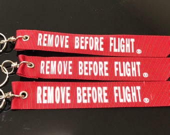 Airbus Remove Before Flight Keyring Aircraft Interest New #162 High Quality Materials Aeronautica