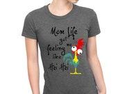 Mom Life shirt   Crazy Li...