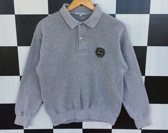 81bfe87239e Lacoste vintage col sweat pull pull 90 s 3 ajustement S taille taille objet  Rare