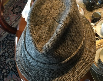 3877d6d643b Vintage Tweed Walking Trilby/British Hat by Kangol Small Unisex