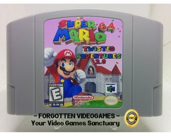 Super Mario 64 The Missing Stars N64 Nintendo 64 NTSC OR   Etsy