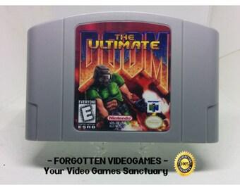 Doom TNT Evilution Pc port N64 Nintendo 64 READ   Etsy