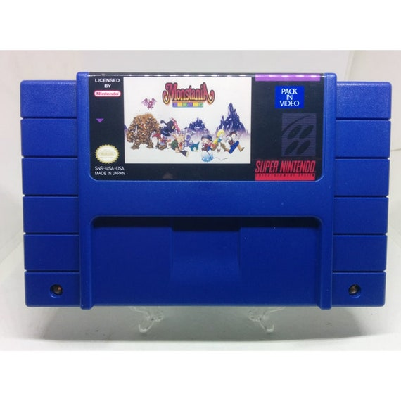 Monstania - English Translation - SNES Super Nintendo