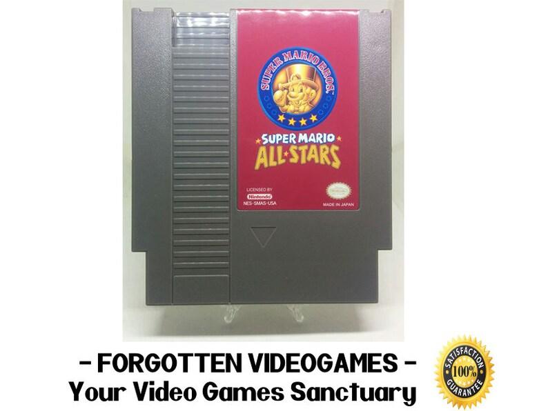 Super Mario All-Stars / All Stars / Mario Bros 1 + Mario Bros 2 Japan +  Mario Bros 2 + Mario Bros 3 ** Can Save !!!! ** - NES Nintendo