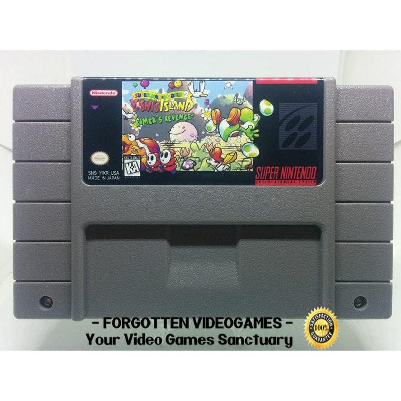 Super Mario World 2: Yoshi's island - Kamek's Revenge - SNES Super Nintendo