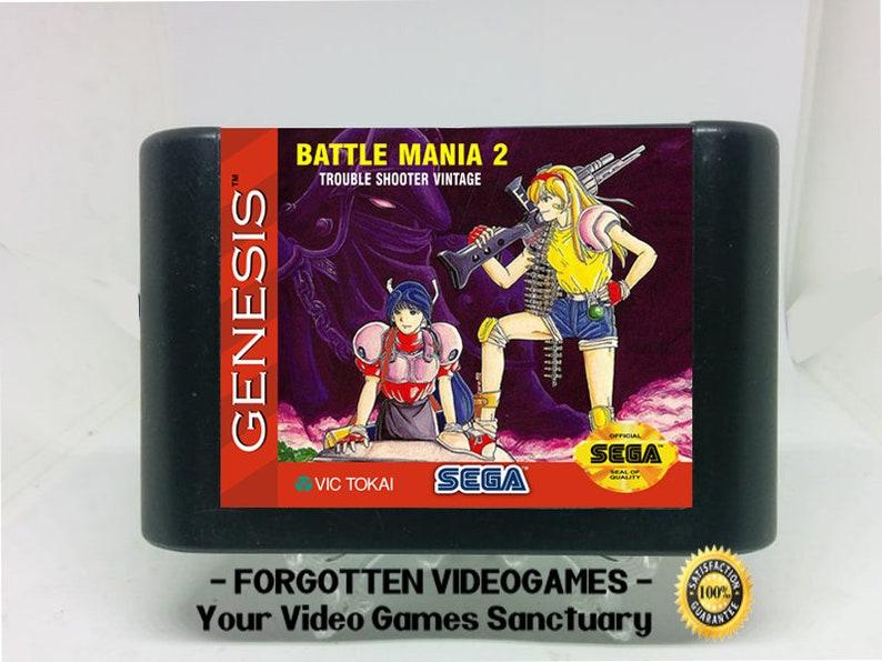 Battle Mania 2 Trouble Shooter Vintage ( Battle Mania Daiginjou )- English  Translation - Sega Genesis