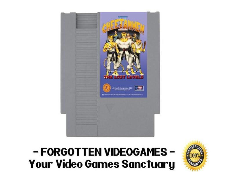 Cheetahmen II - NES Nintendo