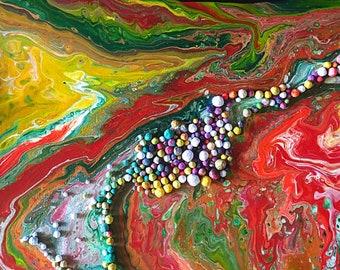 Candyland - Original 3D Painting