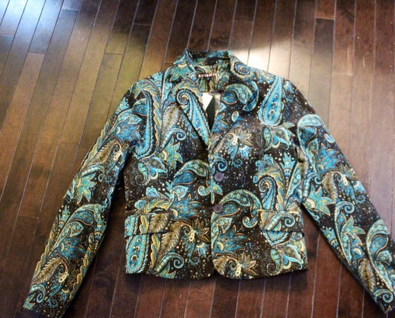 Paisley Corduroy Suit
